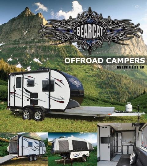 LIVIN LITE Introduces New BEARCAT Offroad Campers