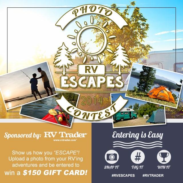 RV Trader Launches Escapes Instagram Photo Contest
